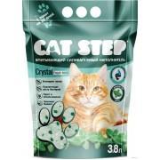 """Наполнитель для кошачьих туалетов Cat Step """"Мята"""" 3,8 л, силикагелевый впитывающий"""