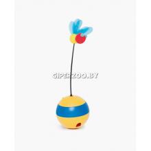 Catit Игрушка пчела-волчок для лакомств с лазерной игрушкой