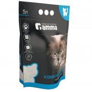 Наполнитель для кошачьих туалетов Gamma 5л, бентонитовый комкующийся