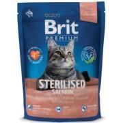 Корм для костировароных котов Brir Premium Cat Sterilised SALMON с лососем