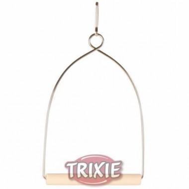 """Качели """"TRIXIE"""" для птиц, деревянные, 15х27 см.  5827"""