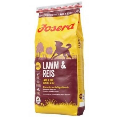 """""""Josera Lamb & Rice"""" полноценный сухой корм для взрослых собак (Ягненок и рис) 1 кг. весовка"""