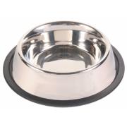 Трикси Миска металлическая с резиновым ободом для собак 24854