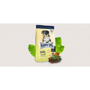 Happy Dog для щенков всех пород с ягненком (Baby Lamb & Rice) 1 кг. весовка