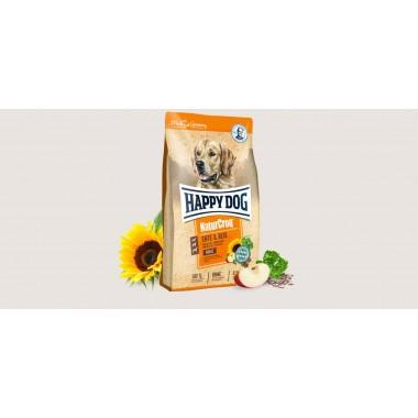 Happy Dog NaturCroq Ente & Reis полнорационный корм для собак (Утка и рис) 1 кг. весовка