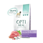 Optimeal Small Adult Dogs Duck для собак малых пород c уткой