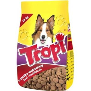 Tropi сухой корм для собак с говядиной 1 кг. весовка