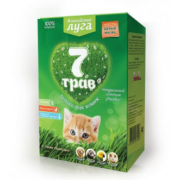 """Альпийские луга травка """"7 трав"""" для кошек (лоток)"""