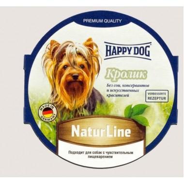 Паштет Happy Dog NaturLine (Кролик) 85 гр.
