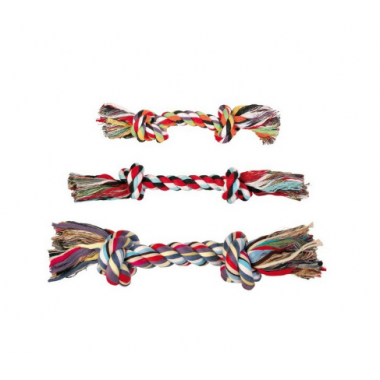 """Игрушка """"TRIXIE"""" для собаки """"DENTAfun"""" в виде веревки с двумя узлами 3271"""