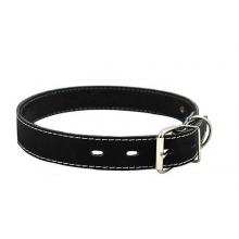 Ошейник для собак кожа+синтепон 27-35см 00020012