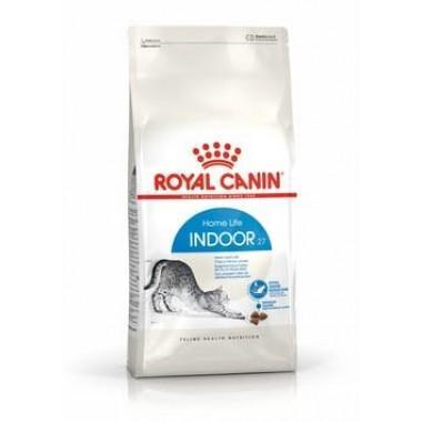 """Royal Canin Indoor 27"" корм для домашних кошек 400 гр. пачка"