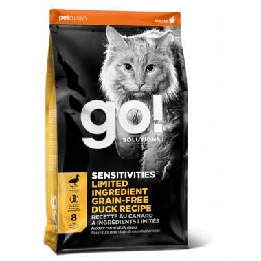 """""""G.O natural holistic"""" для котят и кошек (чувствительное пищеварение) на утке"""