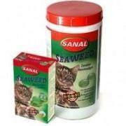 Витаминизированные лакомства Sanal Seaweed с водорослями, 100 таблеток (Арт. 3100SC)