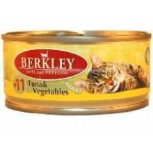 """""""Berkley"""" Консервы для кошек с тунцом и овощами 100 гр."""