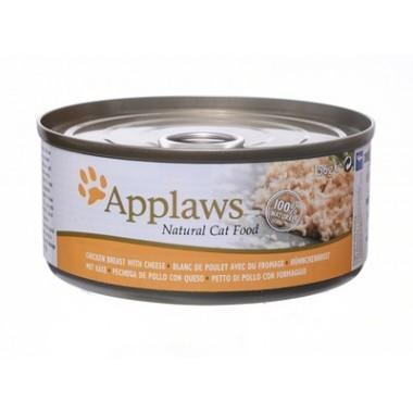 Applaws консервы для кошек с куриной грудкой и сыром, Cat Chicken Breast & Cheese