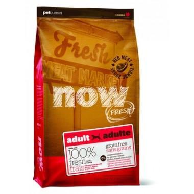 NOW Беззерновой корм для взрослых собак со свежим мясом Ягненка 2,72 кг