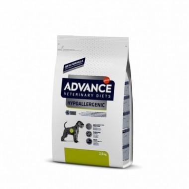Advance VetDiet HYPOALLERGENIC для собак с проблемами ЖКТ и пищевыми аллергиями, 2,5 кг