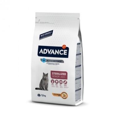 Advance Сухой корм для стерилизованных кошек старше 10 лет, 10кг