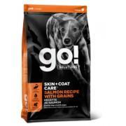 GO Корм для щенков и собак со свежим Лососем и Овсянкой (Sensitivity)