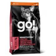 GO Беззерновой корм для щенков и собак с лососем для чувствительного пищеварения (Sensitivity)