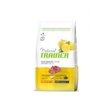 NT Корм сухой для собак мелких и миниатюрных пород с говядиной и рисом, 0,8кг