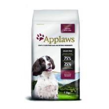 """Корм Applaws беззерновой для собак малых и средних пород """"Курица и ягненок/Овощи: 75/25%"""