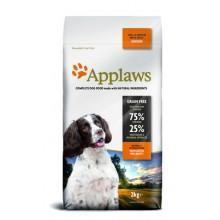 """Корм Applaws беззерновой для собак малых и средних пород """"Курица/овощи: 75/25%"""""""