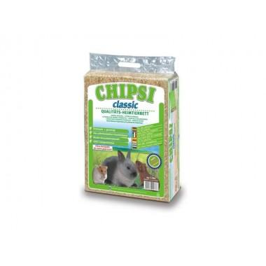 Опилки CHIPSI классик 15 л для подстилки в клетки грызунов
