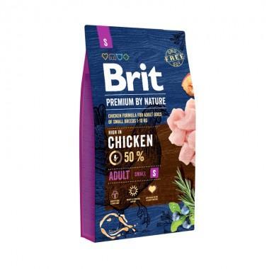 Премиальный полнорационный сухой корм с курицей для взрослых собак мелких пород (1-10 кг)