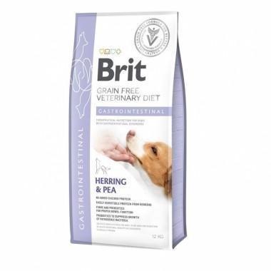 Диетический полнорационный сухой корм для щенков и взрослых собак - снижение острых расстройств кишечника, профилактика нарушения пищеварения