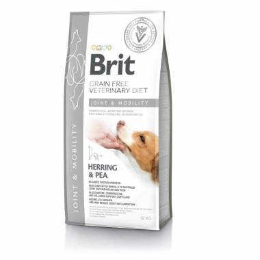 Диетический полнорационный сухой корм для собак с высоким содержанием Омега-3 и хондропротекторов для поддержки здоровья суставов