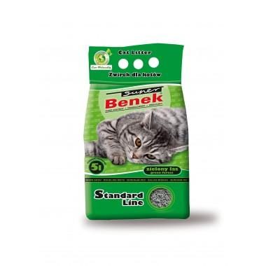 Наполнитель для туалета Super Benek 5л Зеленый лес