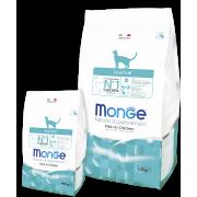 Monge Cat  Hairball корм для кошек для выведения комков шерсти с цыпленком