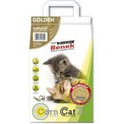Наполнитель для туалета Super Benek Corn Cat Golden, 7л