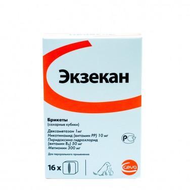 Экзекан сахарные кубики для лечения аллергии, 1 кубик