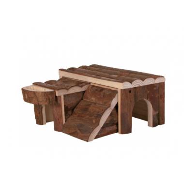 Трикси Домик для грызунов из натурального дерева 6173