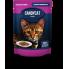 CANDYCAT Консервы для кошек Индейка с овощами 85 гр.