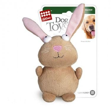"""Игрушка """"Goods for pets"""" для собак """"Кролик"""", с пищалкой, 16 см 10005"""