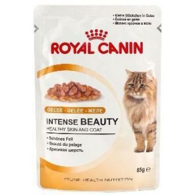 """Консервы """"Royal Canin Intense Beauty"""" для кошек с чувствительной кожей или проблемной шерстью, в желе"""