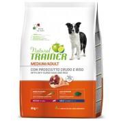 NT Корм сухой для собак средних пород с сыровяленой ветчиной, рисом и маточным молочком