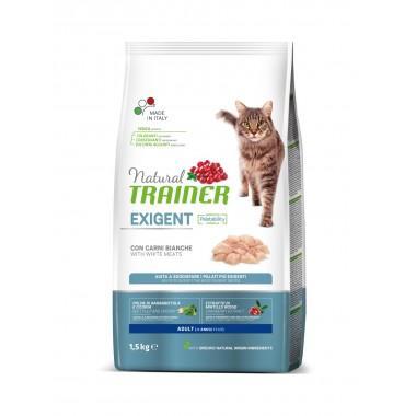 NT Корм сухой для привередливых кошек со свежим белым мясом, 1,5кг