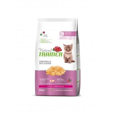 NT Корм сухой для котят с лососем, 1,5кг