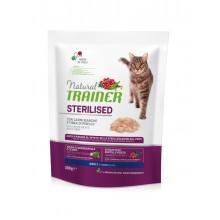 NT Корм сухой для стерилизованных кошек и кастрированных котов со свежим белым мясом