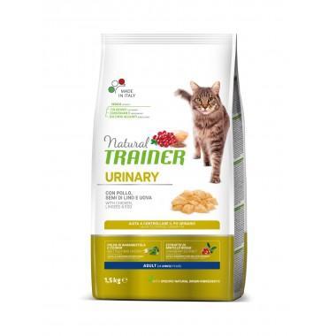 NT Корм сухой для кошек при мочекаменной болезни, курица, 1,5кг