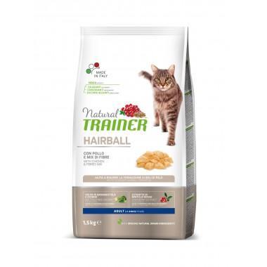 NT Корм сухой для кошек с эффектом выведения шерсти, курица, 1,5кг