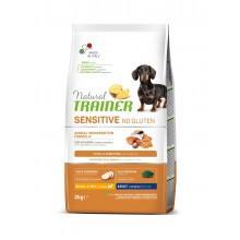 NT Корм сухой беззерновой для собак мелких и миниатюрных пород с чувствительным пищеварением, лосось