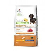 NT Корм сухой беззерновой для собак мелких и миниатюрных пород с чувствительным пищеварением, ягненок