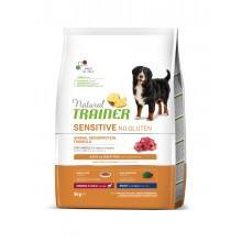 NT Корм сухой беззерновой для собак средних пород с чувствительным пищеварением, ягненок