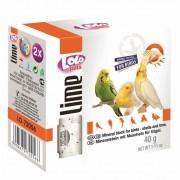Минеральный камень для птиц LoLo Pets с ракушками 40 гр.72056
